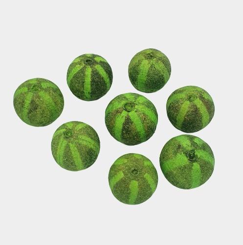 Melon decorativ verde 1